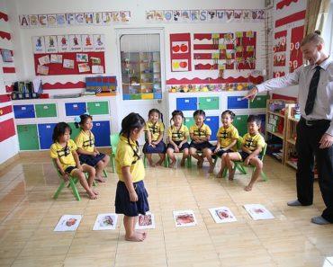 Enseñar inglés a los niños